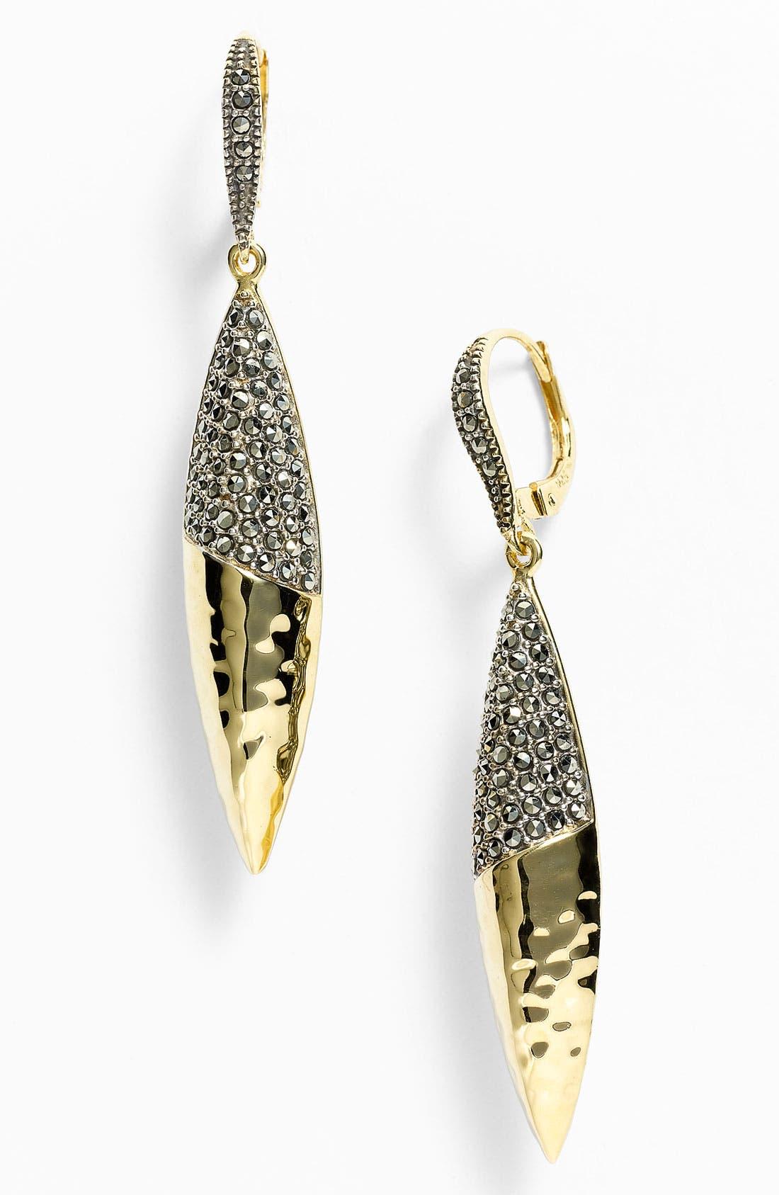 Alternate Image 1 Selected - Judith Jack 'Gold Sea' Drop Earrings
