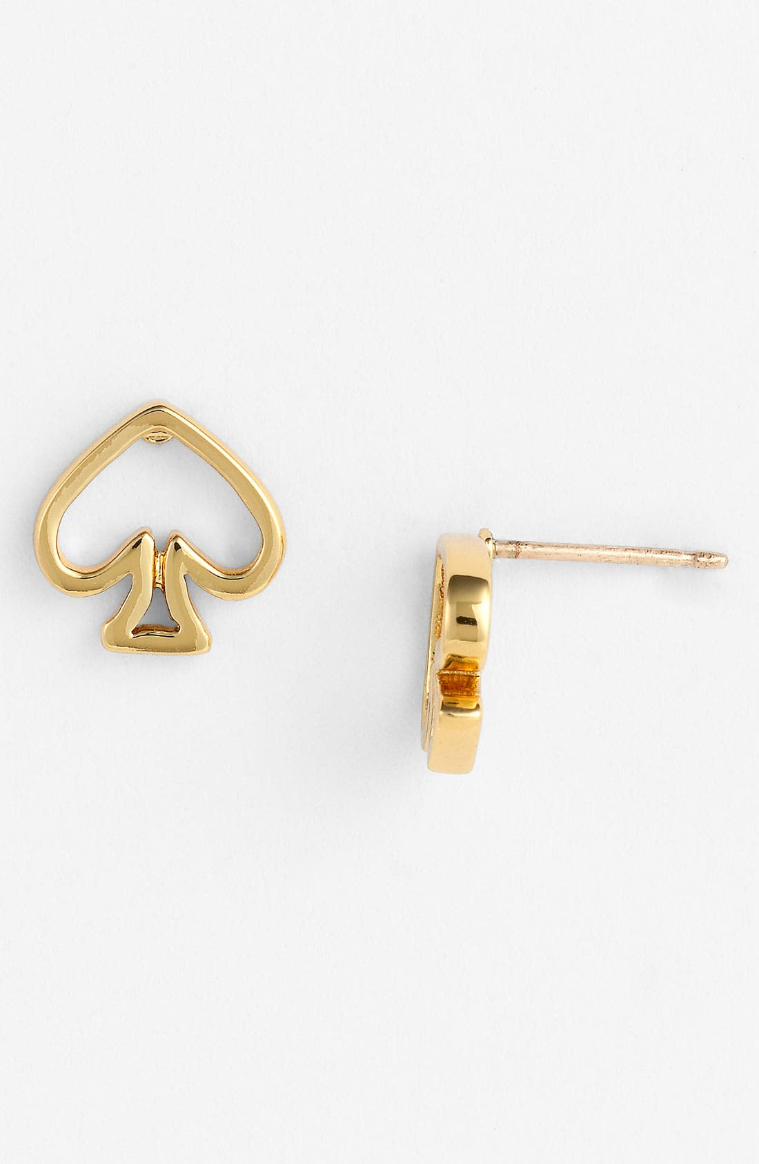 Alternate Image 1 Selected - kate spade new york 'open spade' stud earrings
