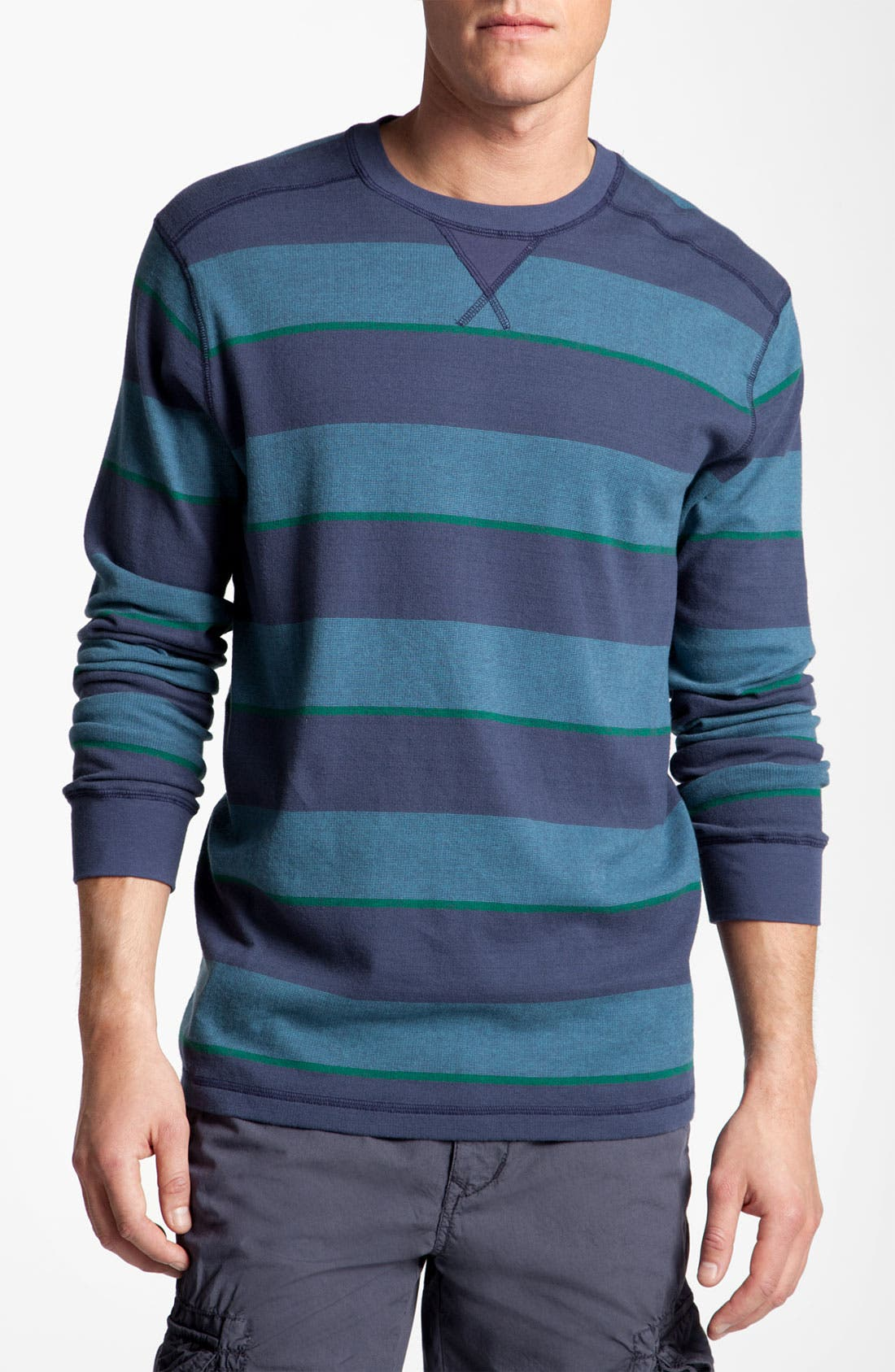 Alternate Image 1 Selected - Quiksilver 'Snit' Stripe Shirt