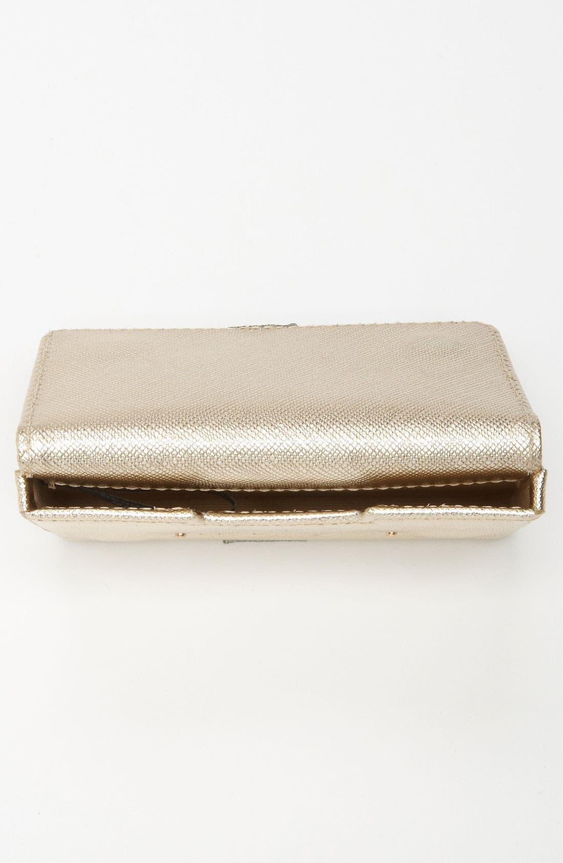 Alternate Image 3  - Halogen® Leather Card Case