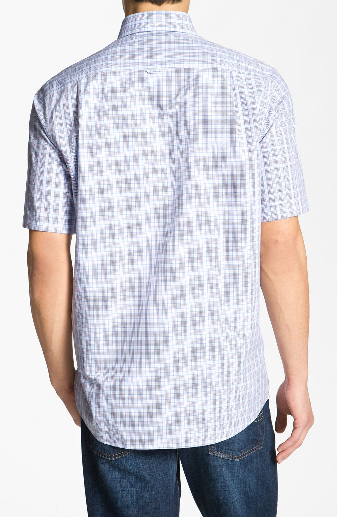 Alternate Image 2  - Nordstrom Smartcare™ Poplin Sport Shirt