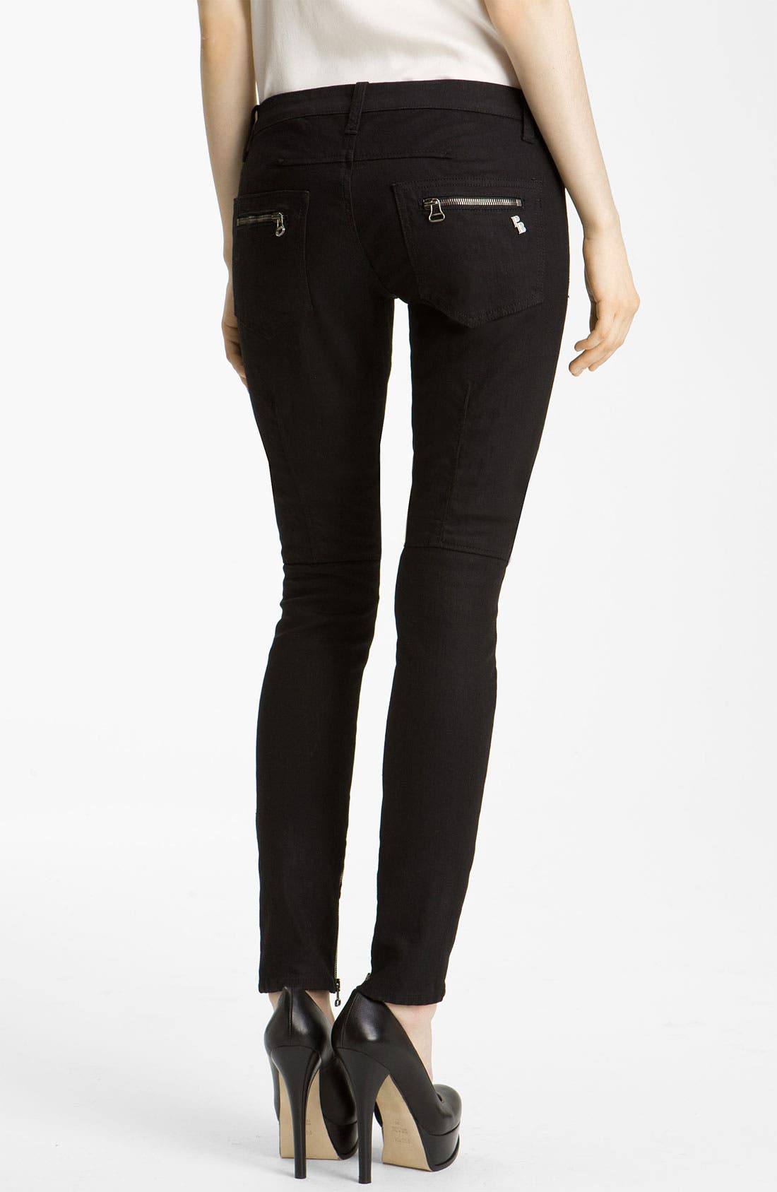 Alternate Image 2  - Pierre Balmain Skinny Stretch Denim Jeans