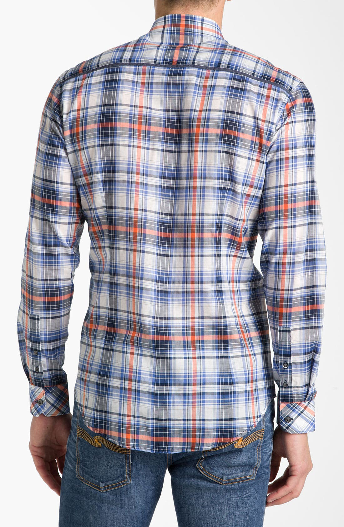 Alternate Image 2  - 7 Diamonds 'In The Mood' Plaid Woven Shirt