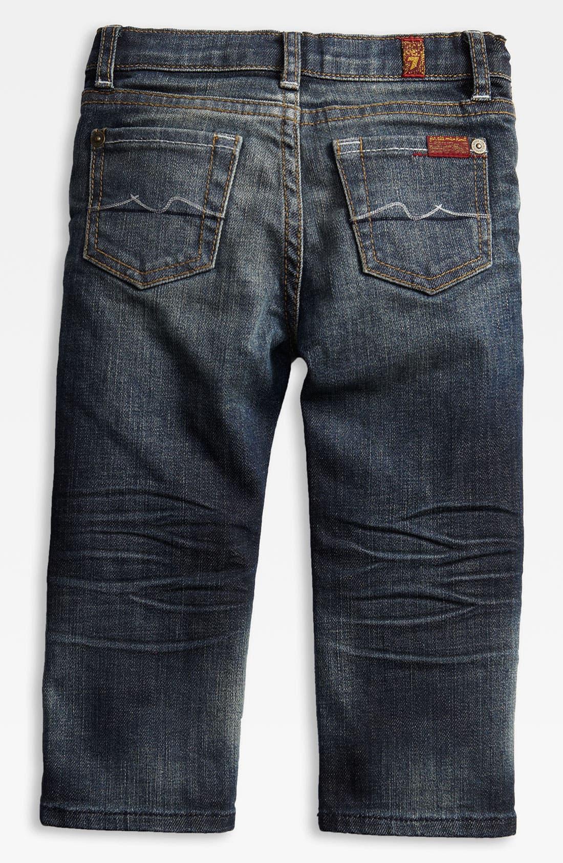 Alternate Image 1 Selected - 7 For All Mankind® 'Standard' Jeans (Toddler)