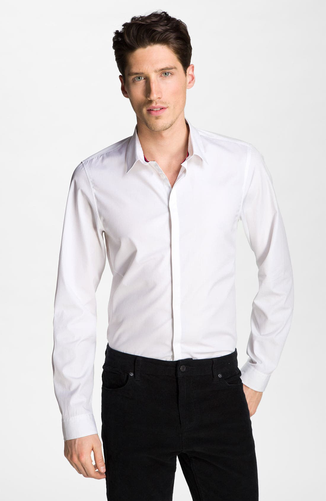 Alternate Image 1 Selected - Zadig & Voltaire Cotton Dress Shirt