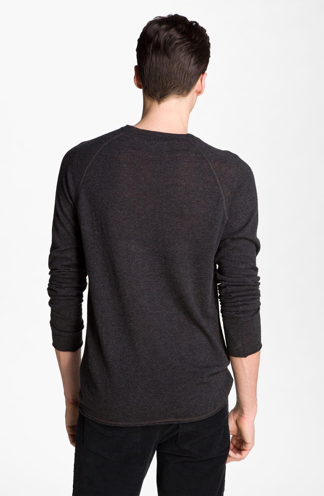 Alternate Image 2  - Zadig & Voltaire Crewneck Sweater