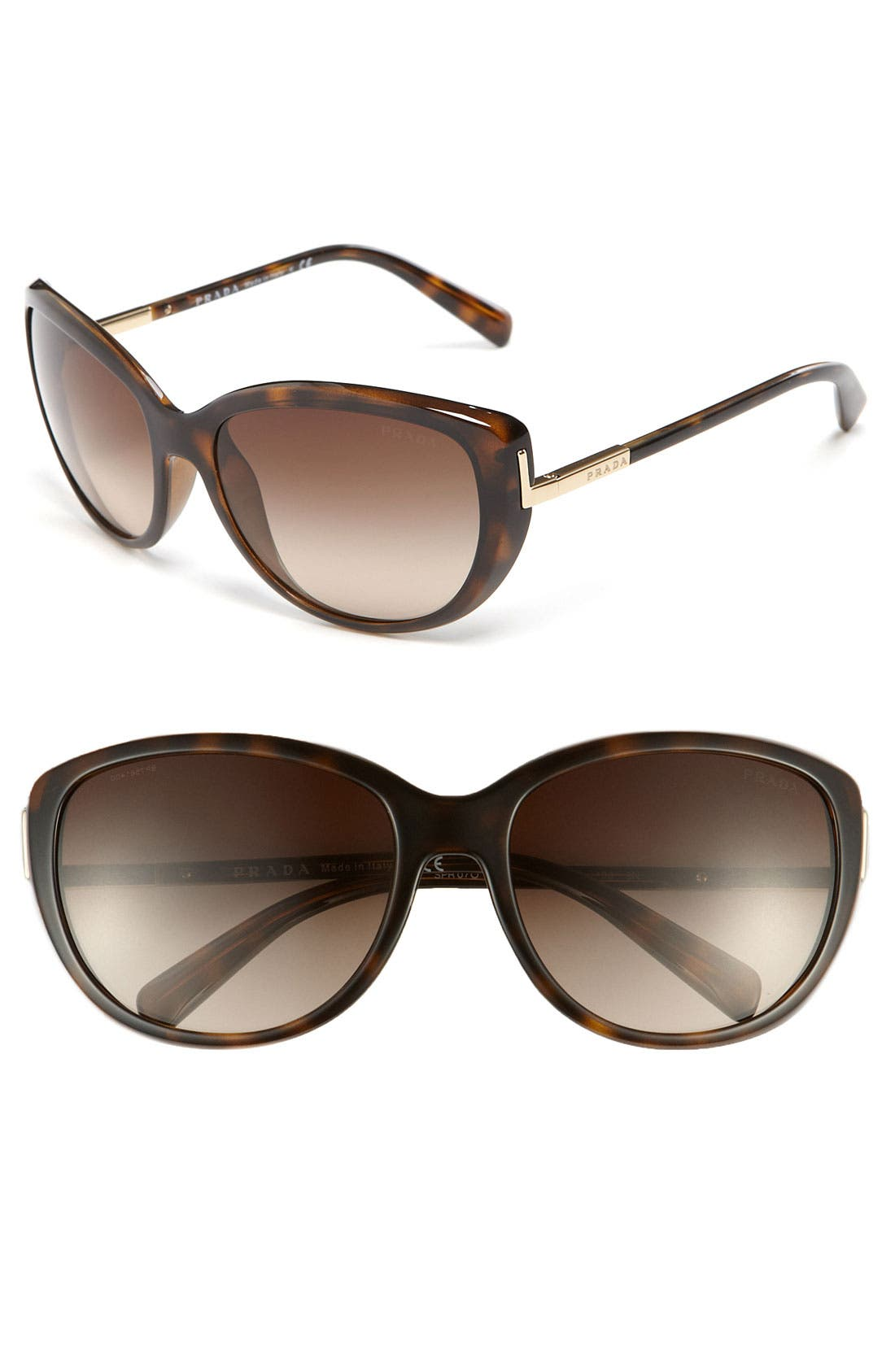 Alternate Image 1 Selected - Prada 59mm Retro Sunglasses