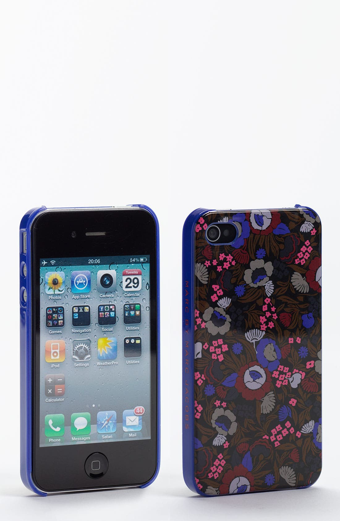 Main Image - MARC BY MARC JACOBS Floral iPhone 4 & 4S Case
