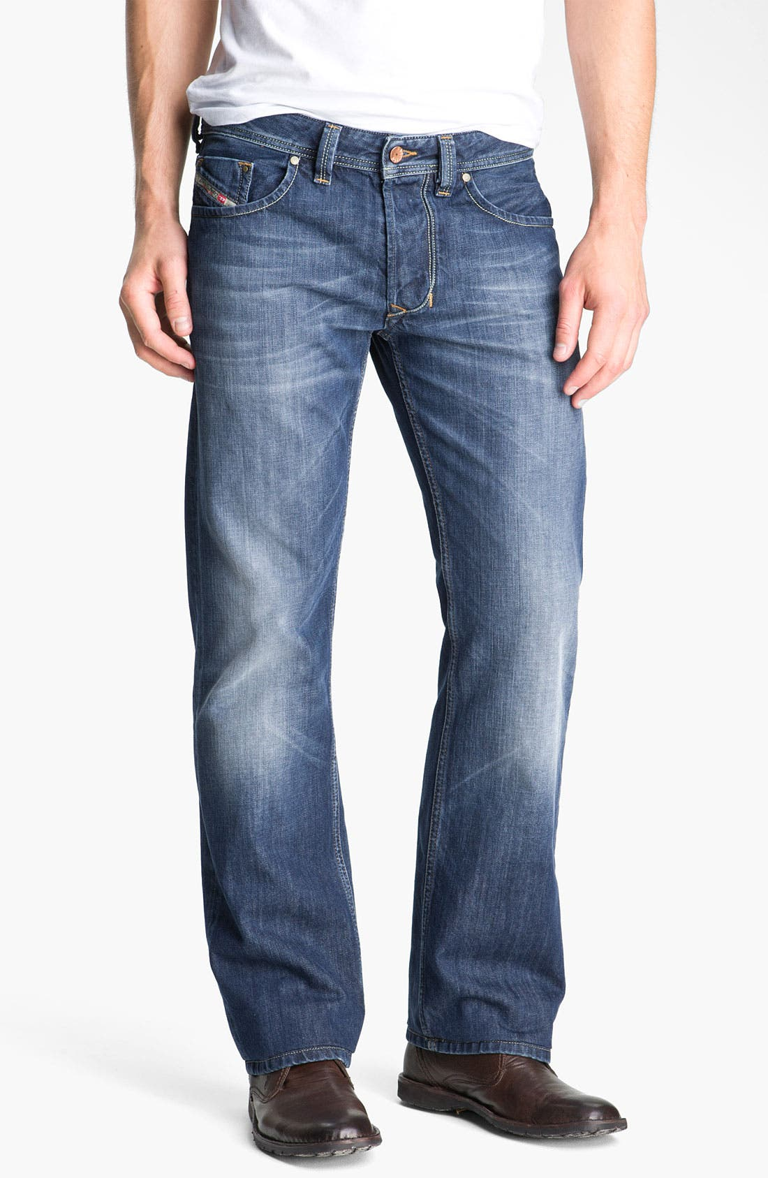 Alternate Image 2  - DIESEL® 'Larkee' Straight Leg Jeans (801Z)