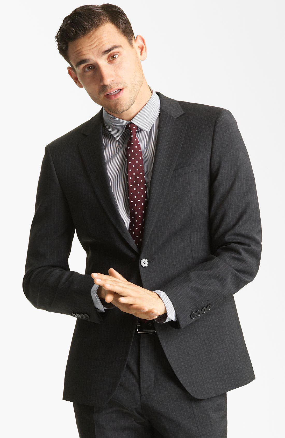 Main Image - Dolce&Gabbana Pinstripe Suit