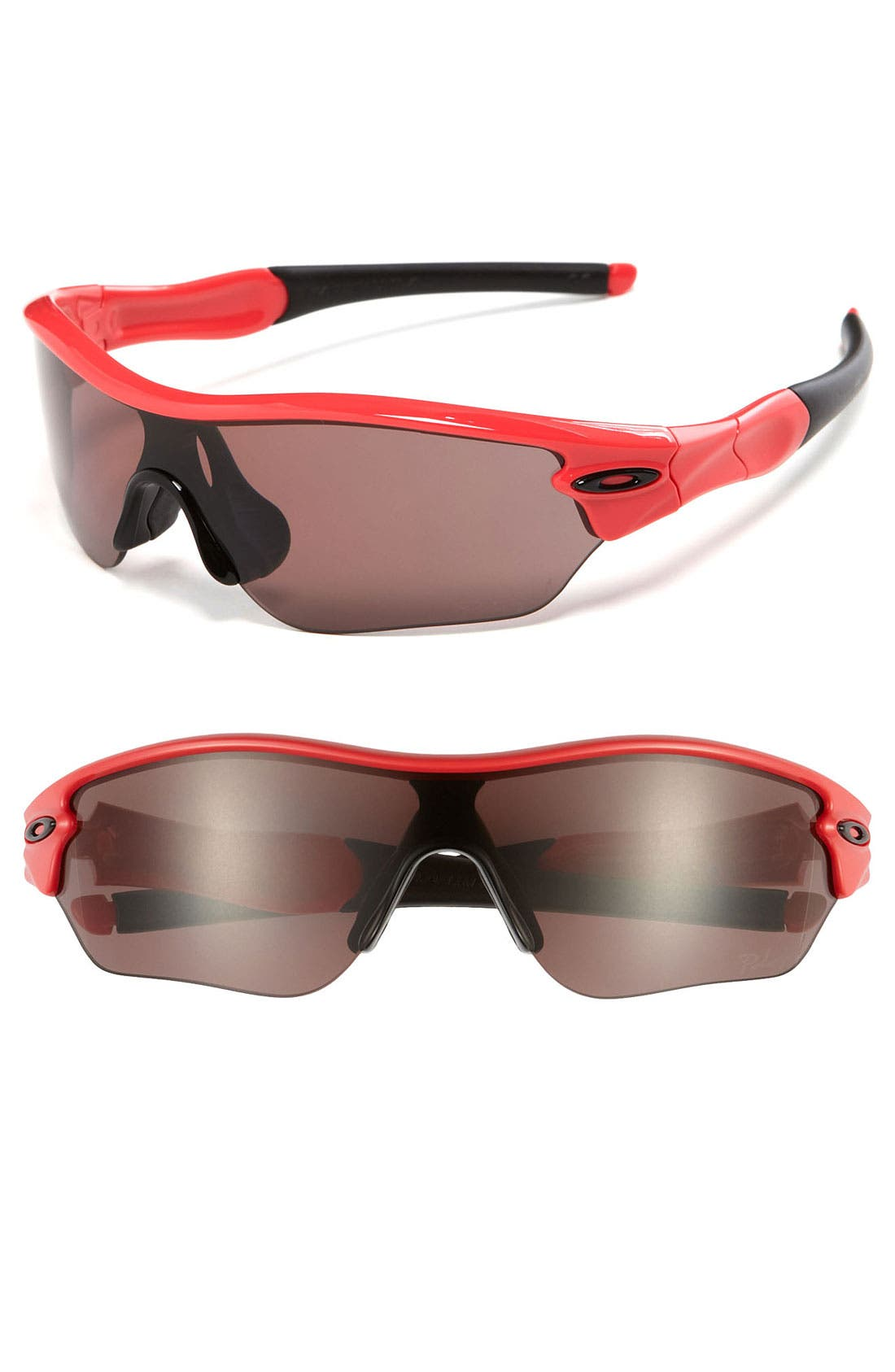 Alternate Image 1 Selected - Oakley 'Radar® Edge™' 135mm Polarized Sunglasses