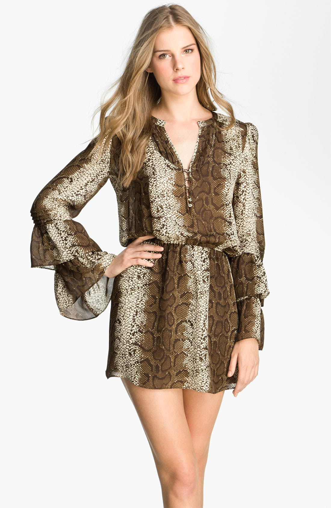 Alternate Image 1 Selected - Parker 'Boho' Silk Minidress