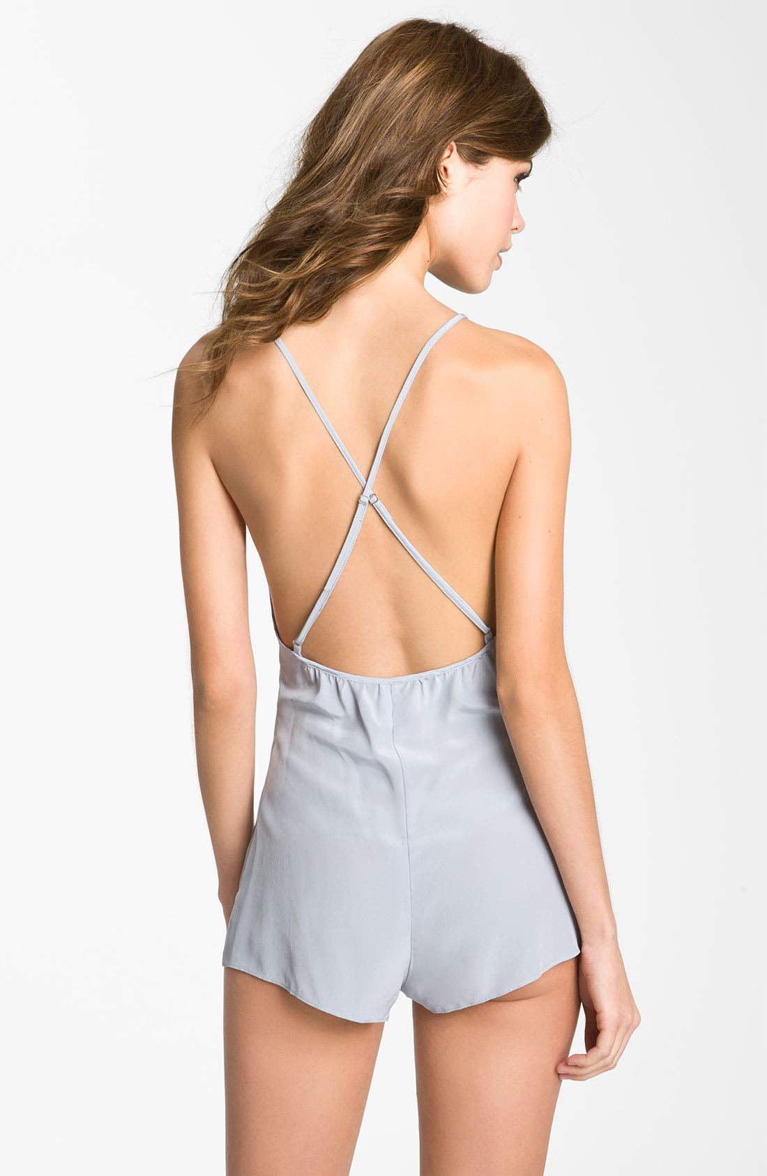 Alternate Image 2  - Zinke 'XOXO' Silk Romper