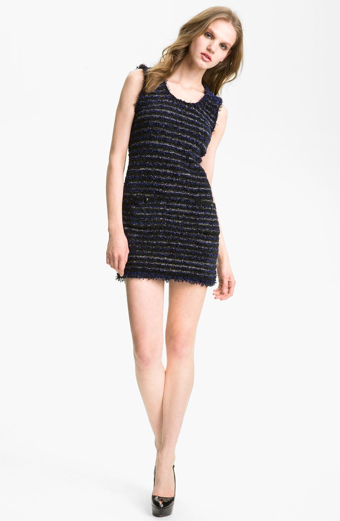 Main Image - Mcginn 'Laura' Frayed Edge Knit Dress