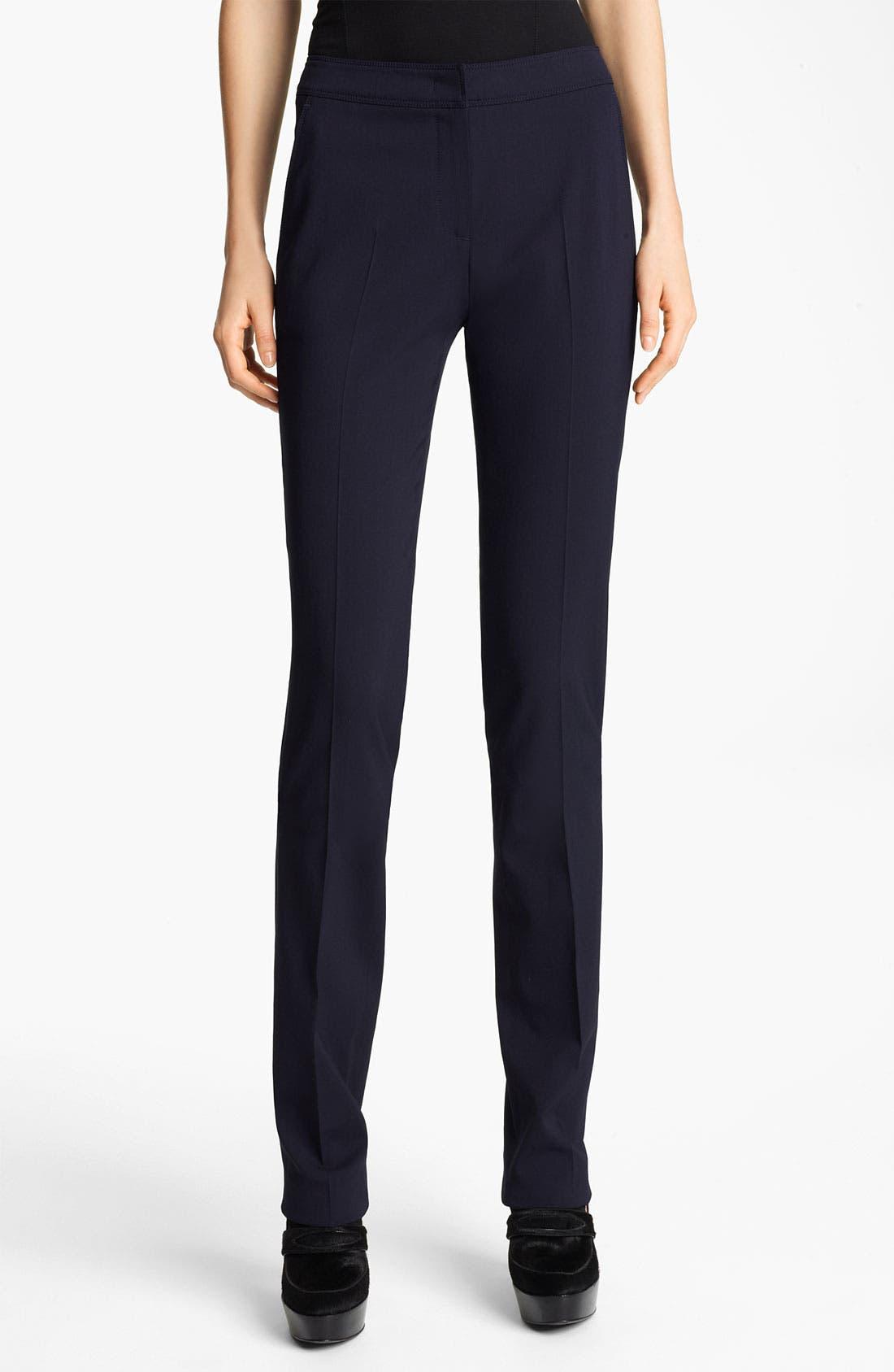 Main Image - Burberry London Straight Leg Pants