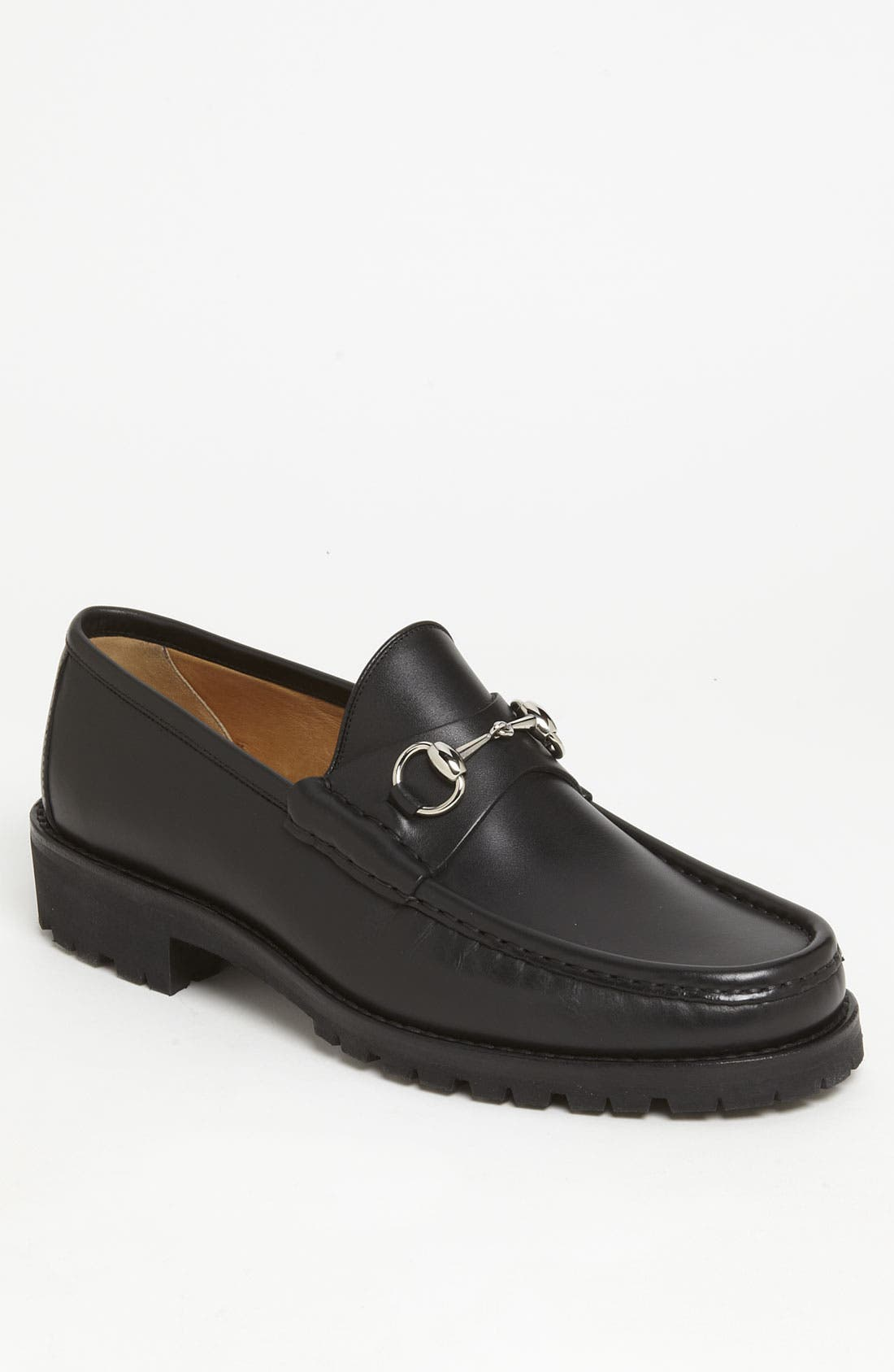 Alternate Image 1 Selected - Gucci Classic Lug Sole Moccasin
