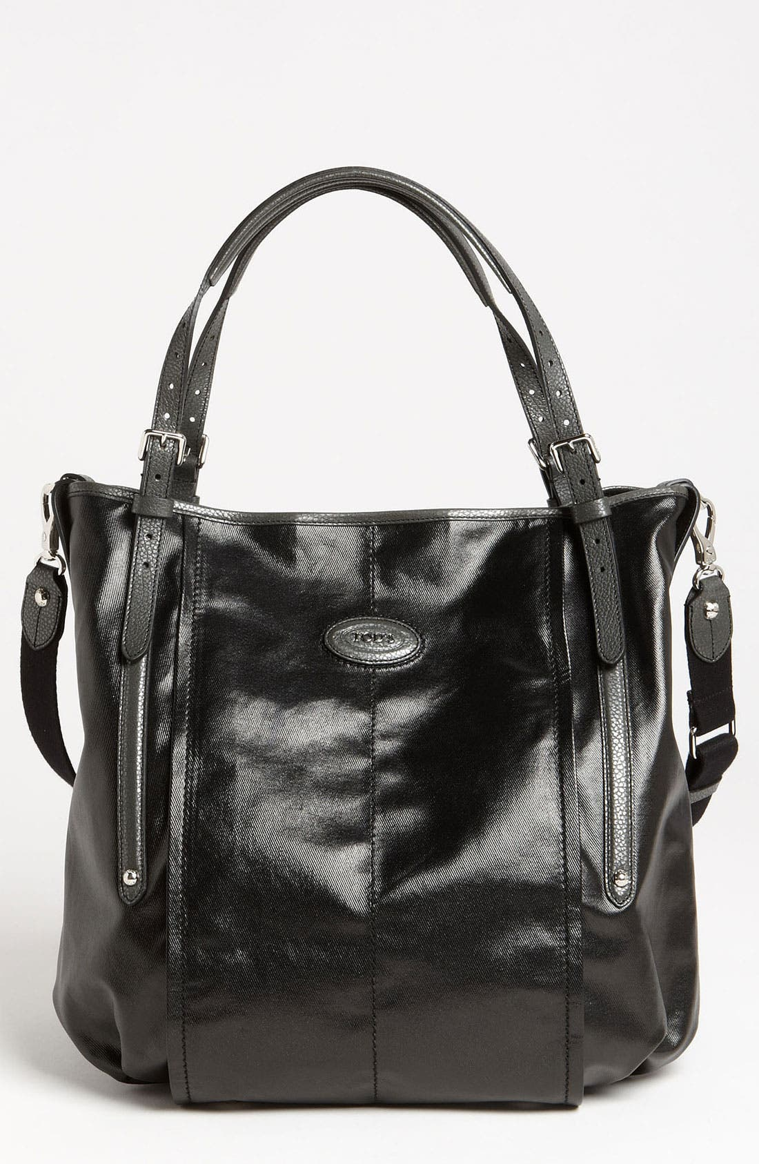 Alternate Image 1 Selected - Tod's 'G-Line - Large' Fabric Tote