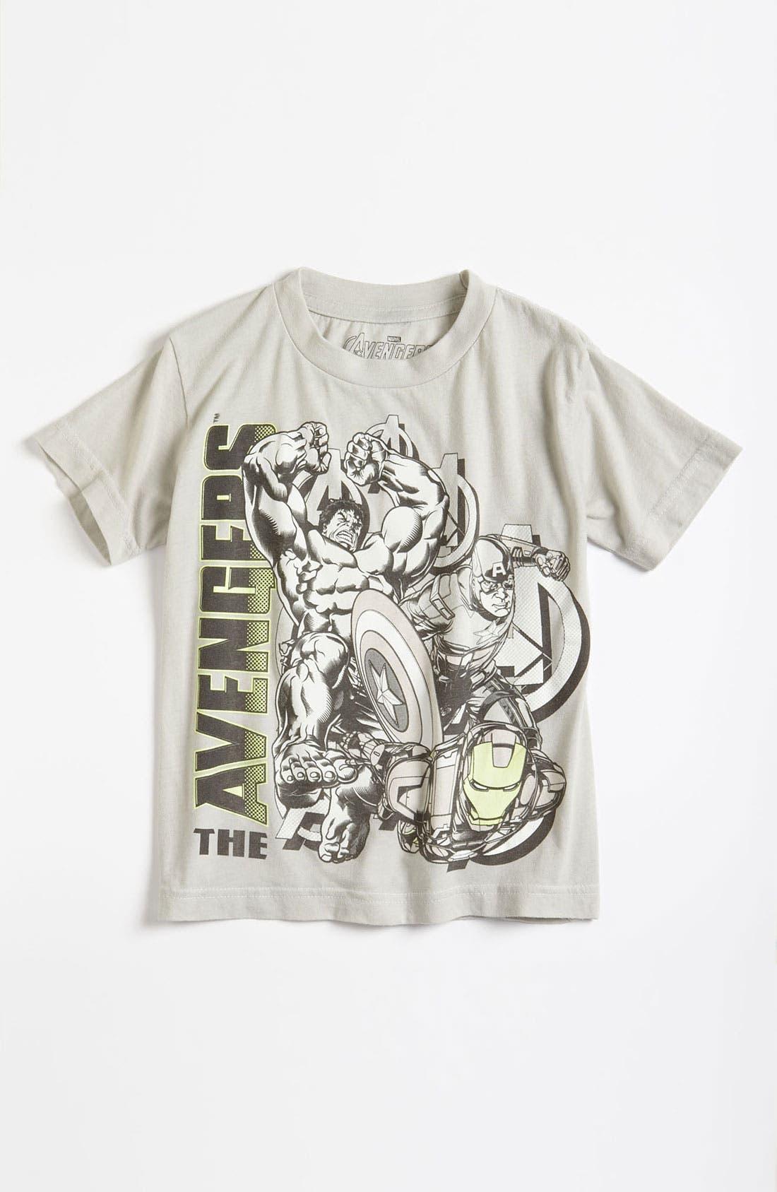 Main Image - Jem 'The Avengers™' Glow in the Dark T-Shirt (Little Boys)