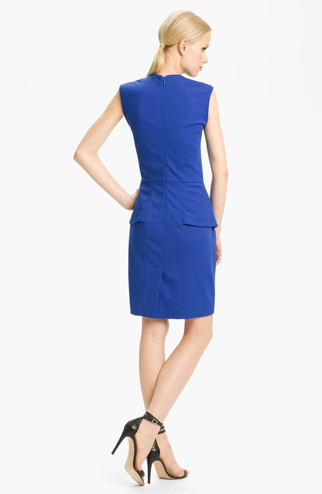 Alternate Image 2  - Tibi Peplum Ponte Dress