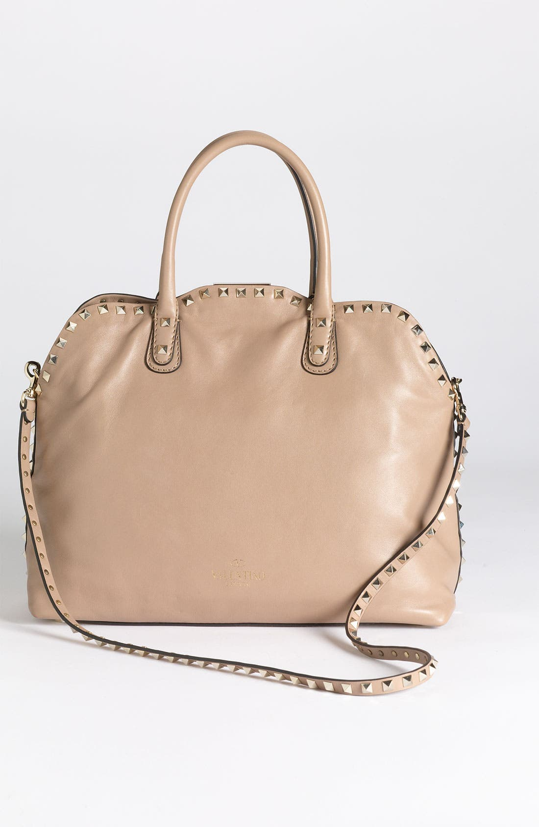 Alternate Image 4  - Valentino 'Rockstud' Leather Dome Handbag