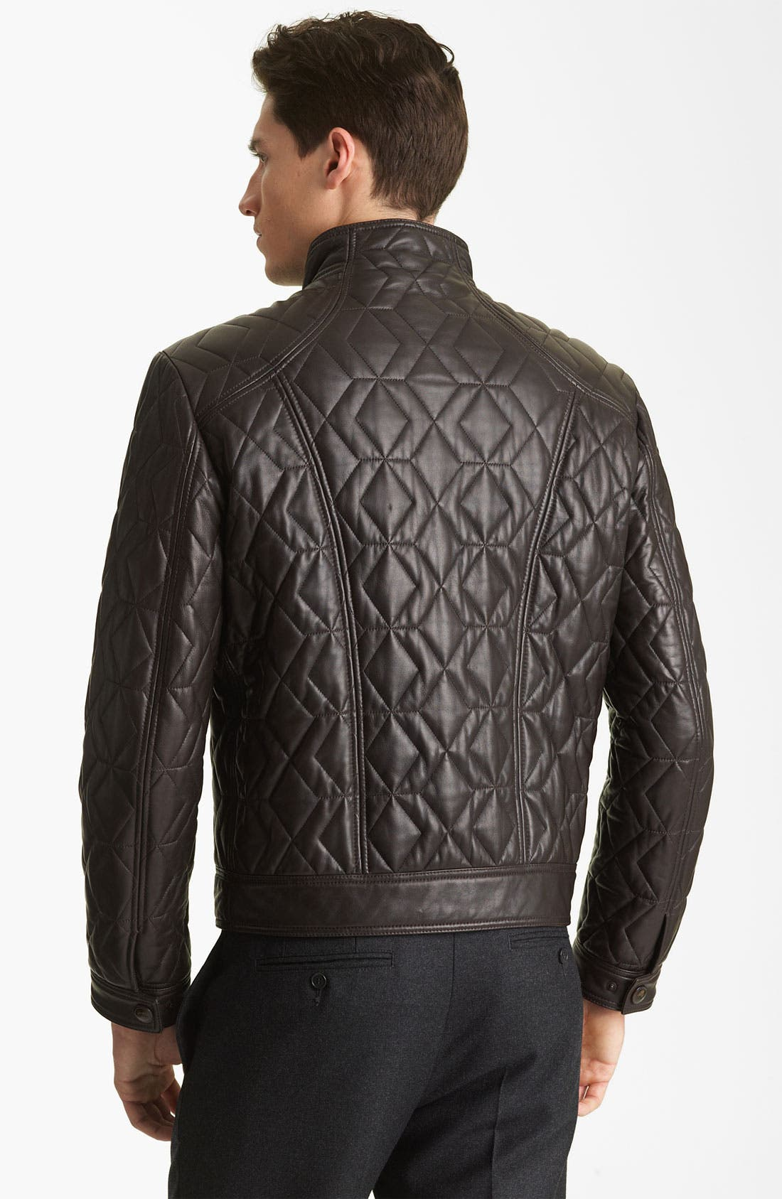 Alternate Image 2  - Etro Leather Jacket
