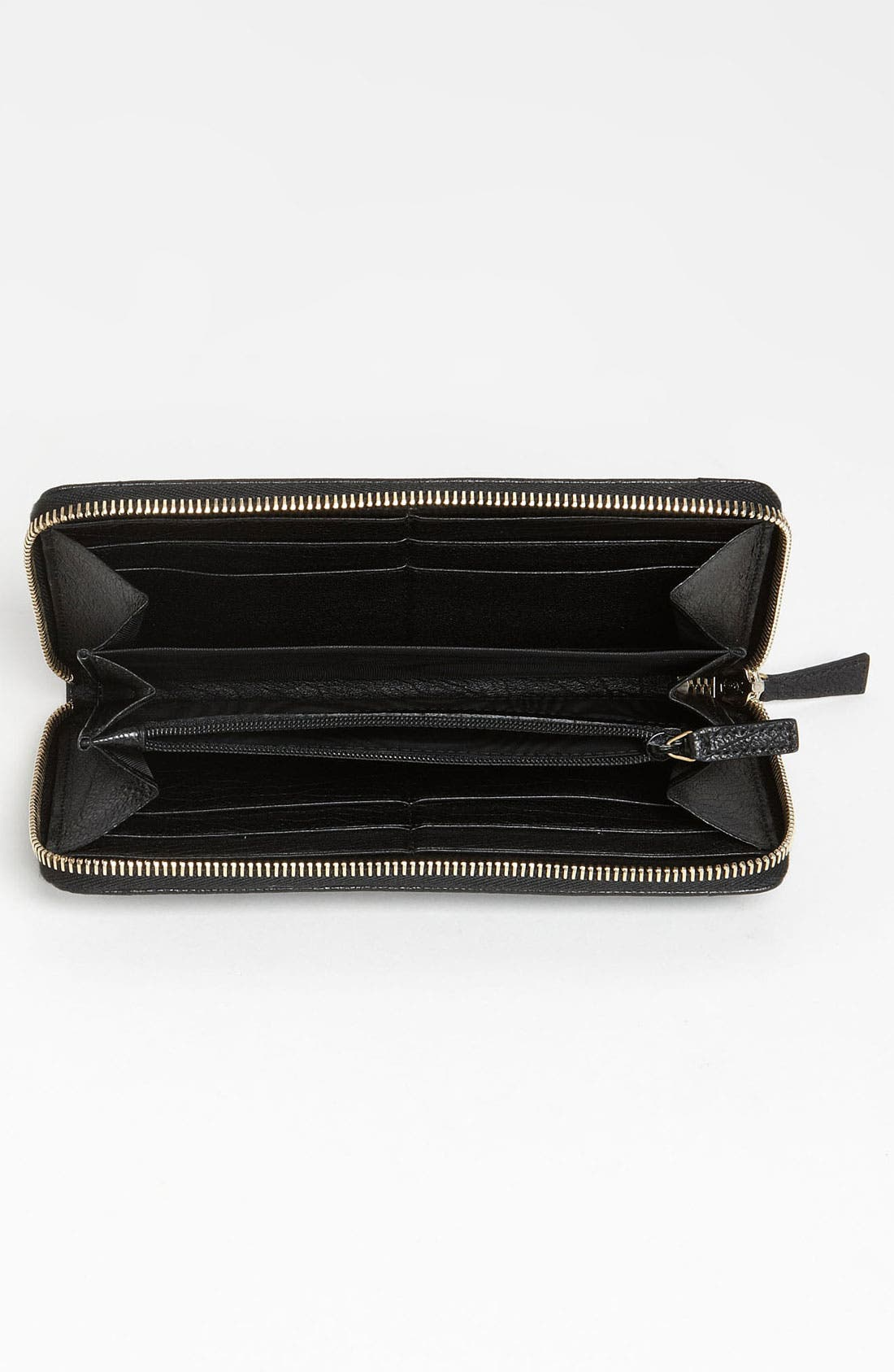 Alternate Image 3  - Yves Saint Laurent 'Muse' Leather Wallet