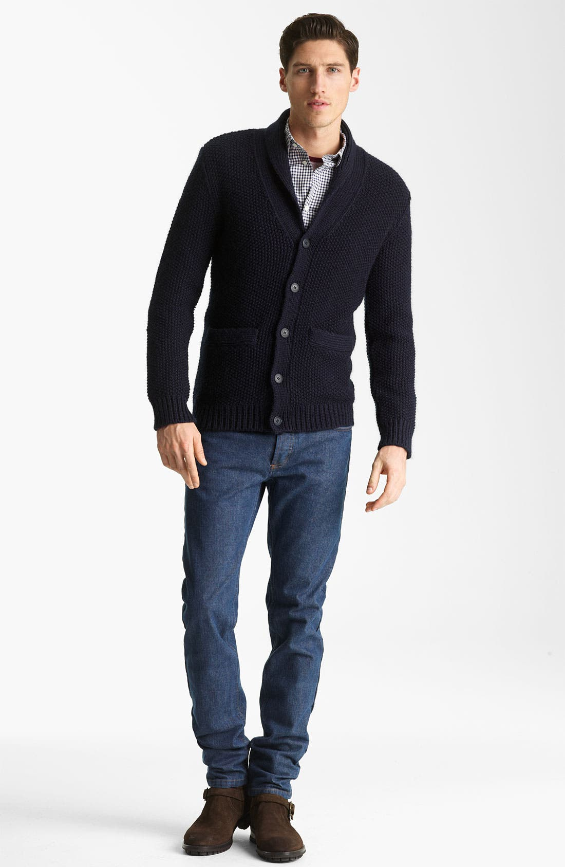 Alternate Image 4  - A.P.C. Shawl Collar Cardigan