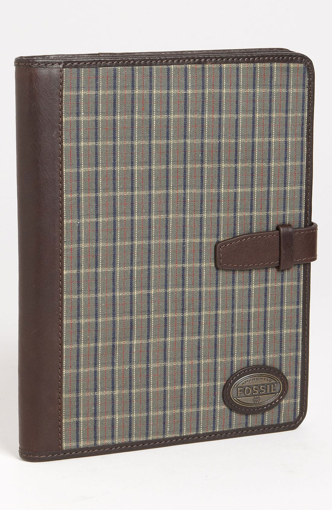 Alternate Image 1 Selected - Fossil 'Estate' Leather & Cotton Tablet Case