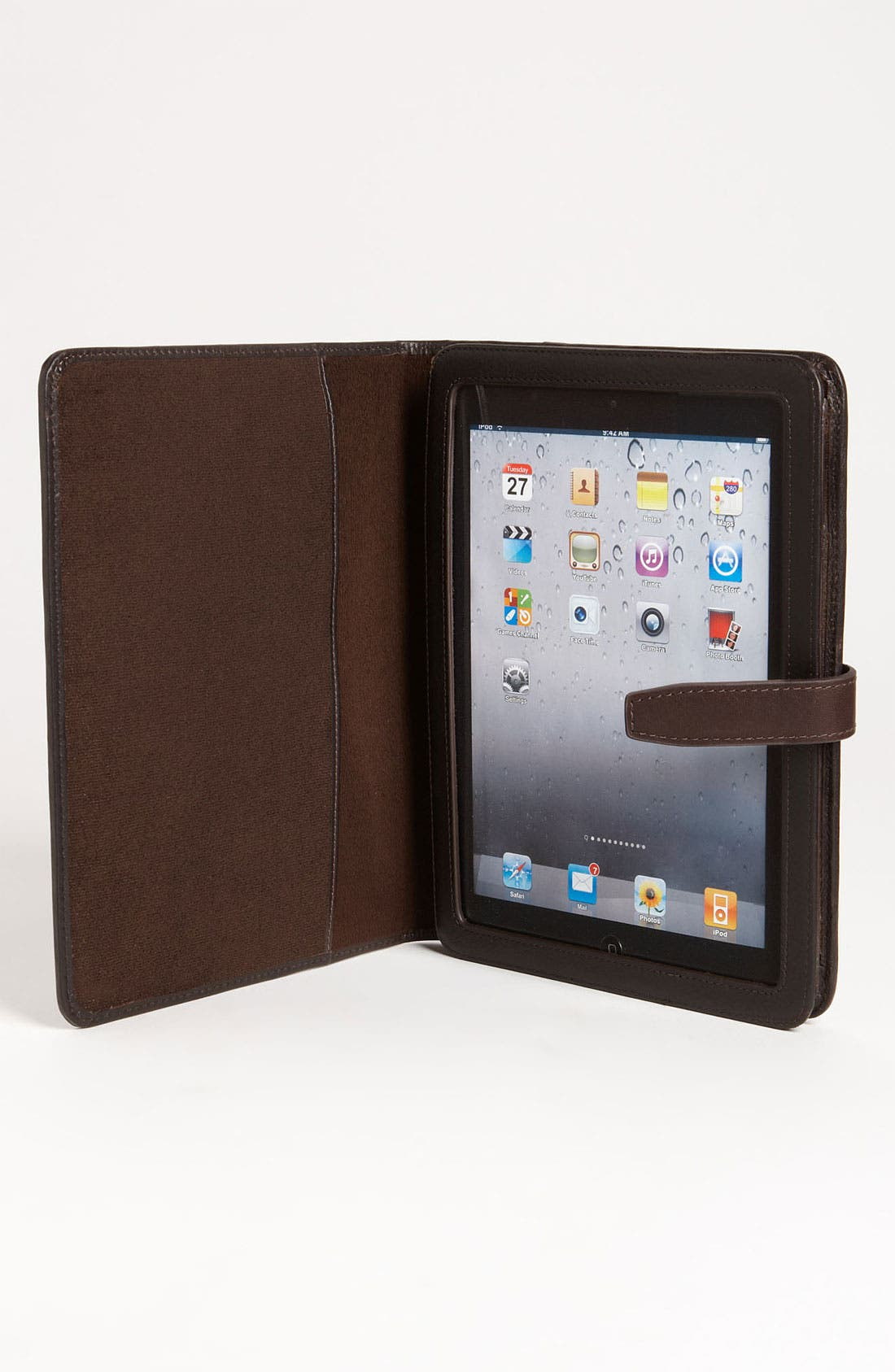 Alternate Image 3  - Fossil 'Estate' Leather & Cotton Tablet Case