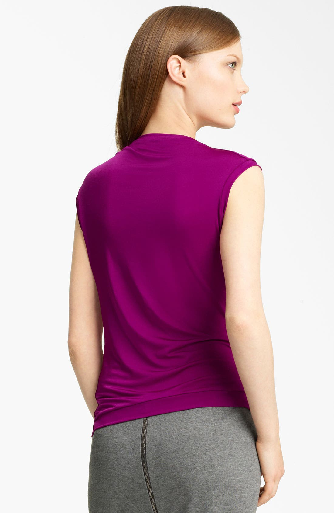 Alternate Image 2  - Lida Baday Ruched Jersey Top