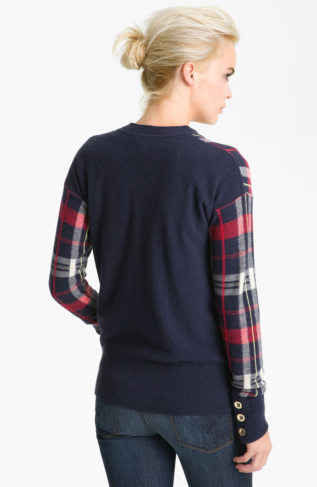 Alternate Image 2  - Juicy Couture Plaid Cardigan