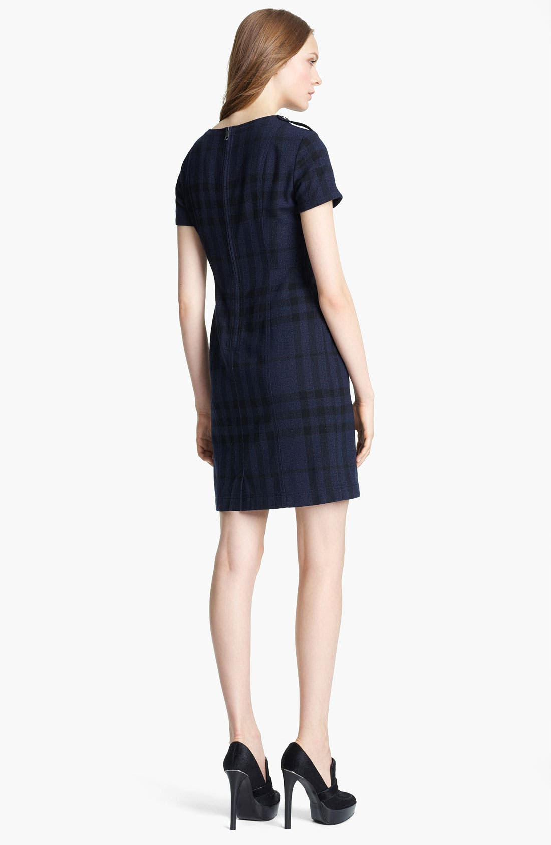 Alternate Image 2  - Burberry Check Print Dress