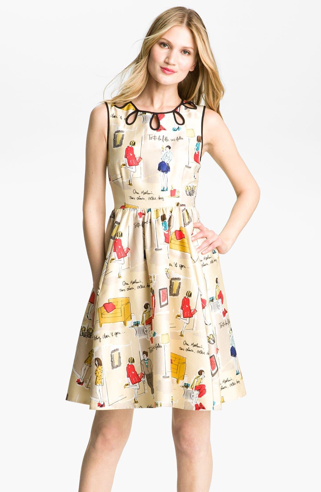 Main Image - kate spade new york 'rainey' dress