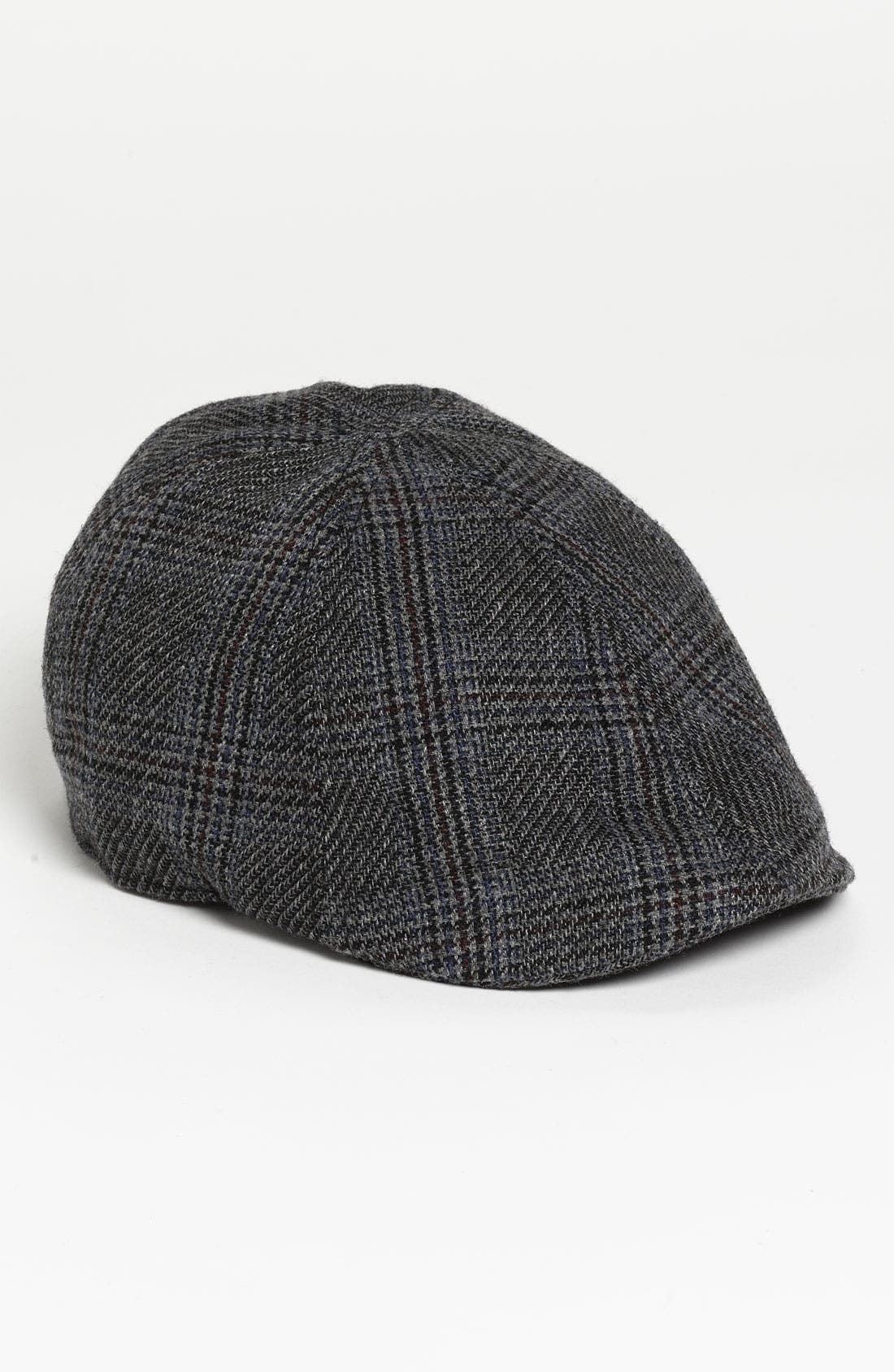 Main Image - Free Authority Houndstooth Plaid Duckbill Ivy Cap