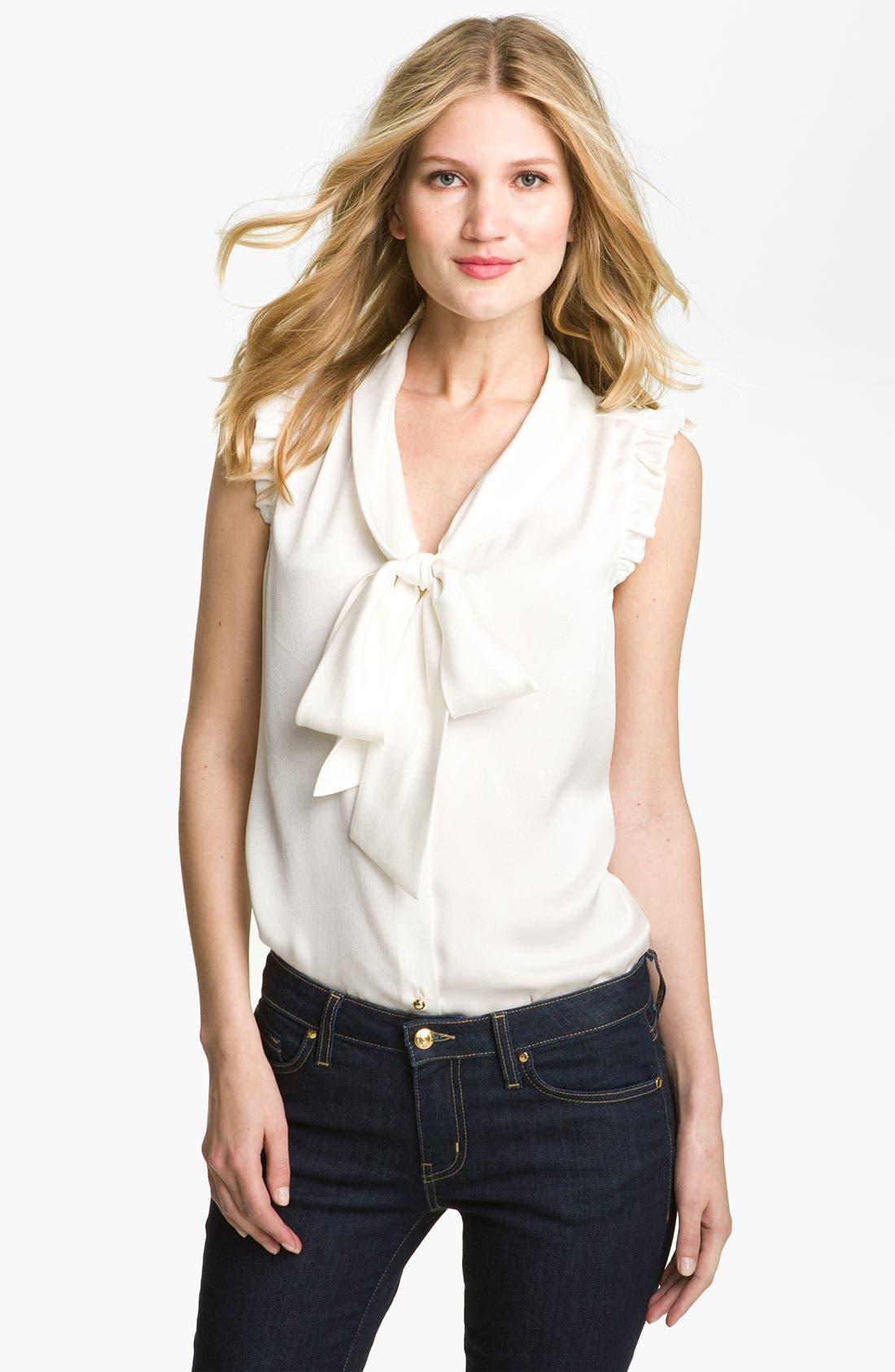 Main Image - kate spade new york 'morgan' silk top