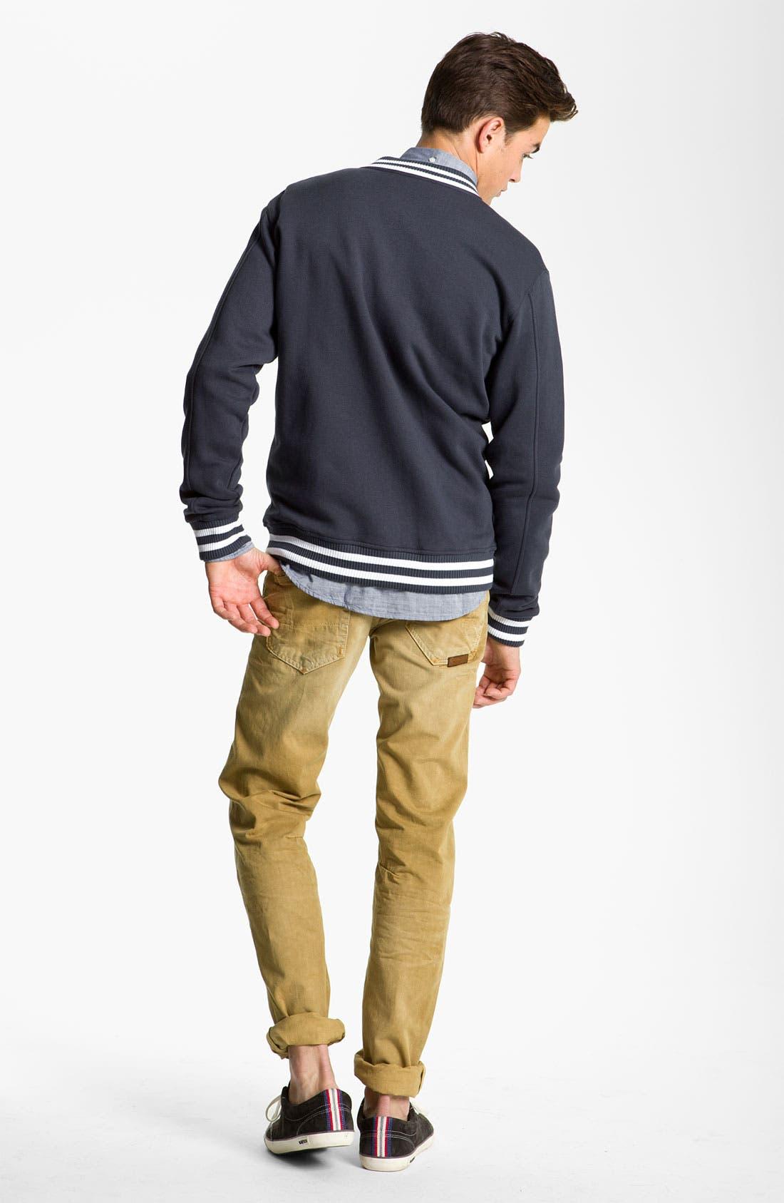 Alternate Image 5  - PRPS 'Rambler' Slim Straight Leg Jeans (Base Camp)