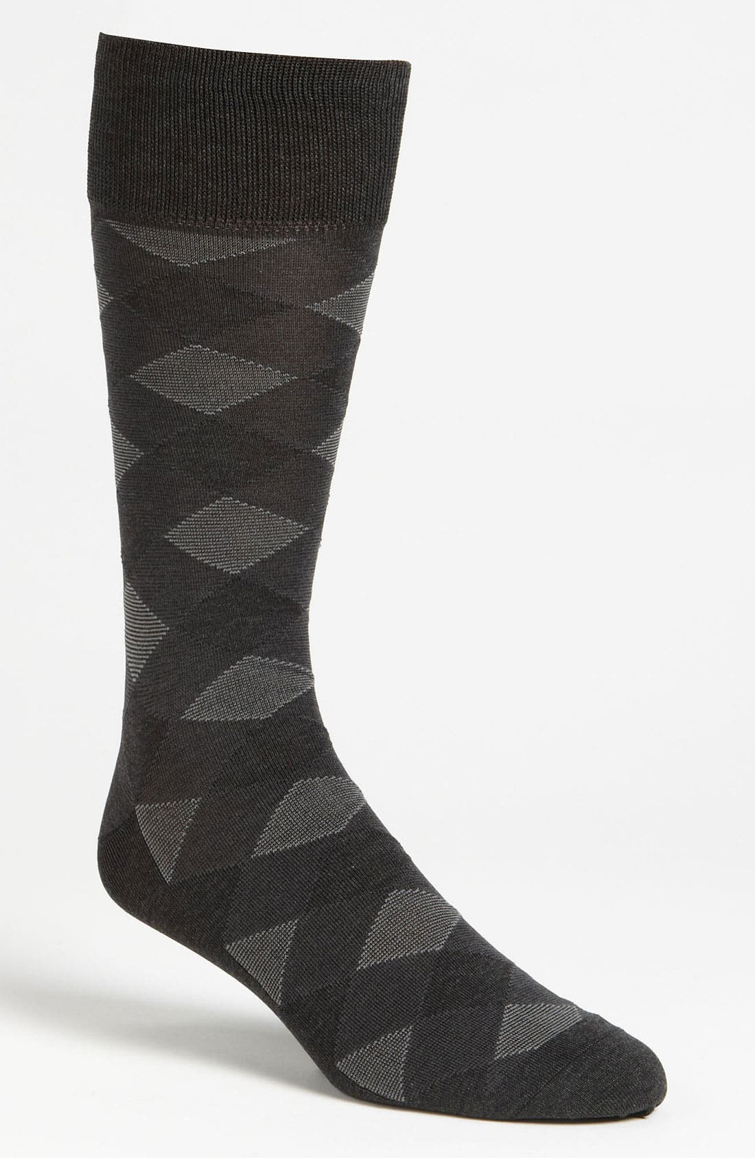 Alternate Image 1 Selected - Calibrate 'Diagonal Colorblock' Socks