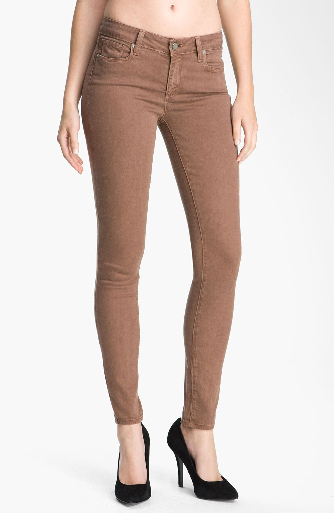 Alternate Image 1 Selected - Paige Denim 'Verdugo' Skinny Stretch Jeans (Rothko)