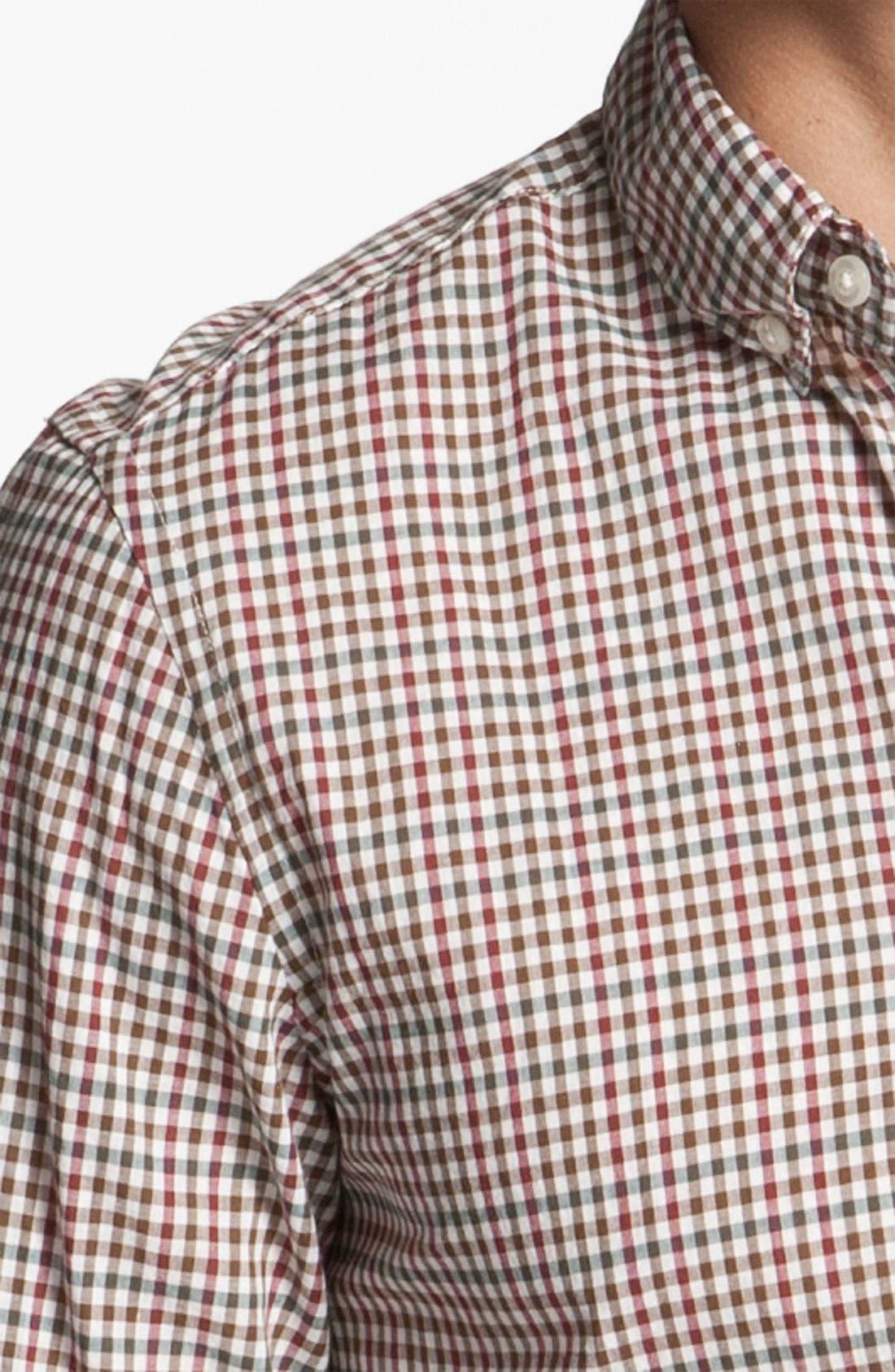 Alternate Image 3  - Steven Alan Plaid Sport Shirt
