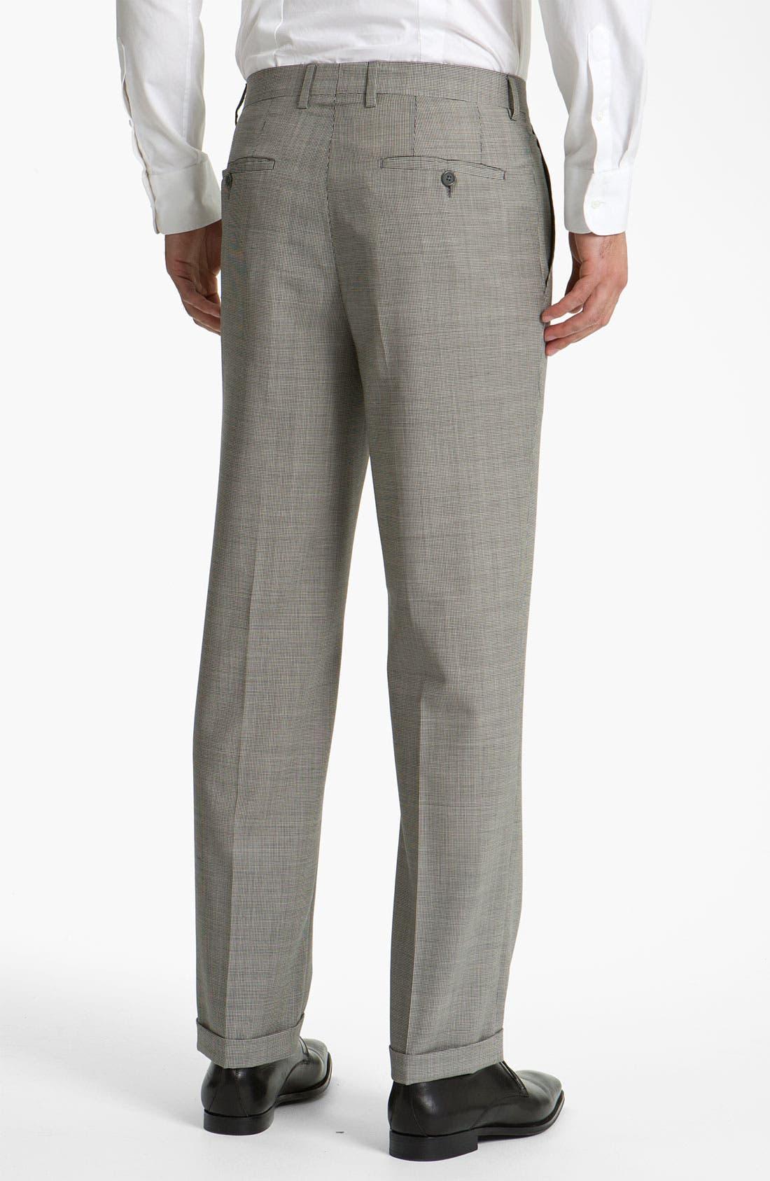 Alternate Image 2  - Santorelli Single Pleat Trousers