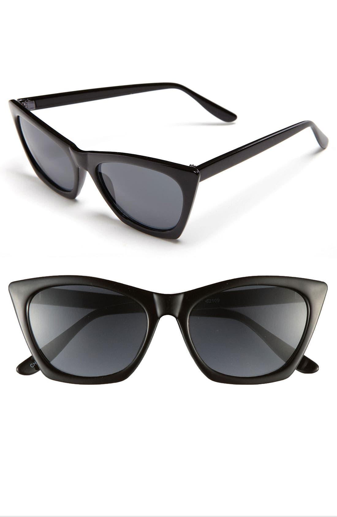 Alternate Image 1 Selected - A.J. Morgan 'Melanie' Sunglasses