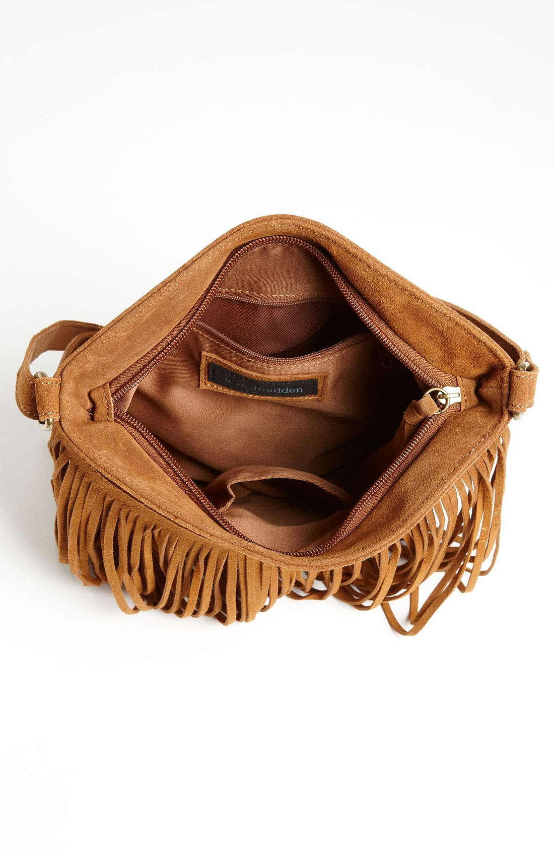 Alternate Image 3  - Steve Madden Fringed Suede Crossbody Bag