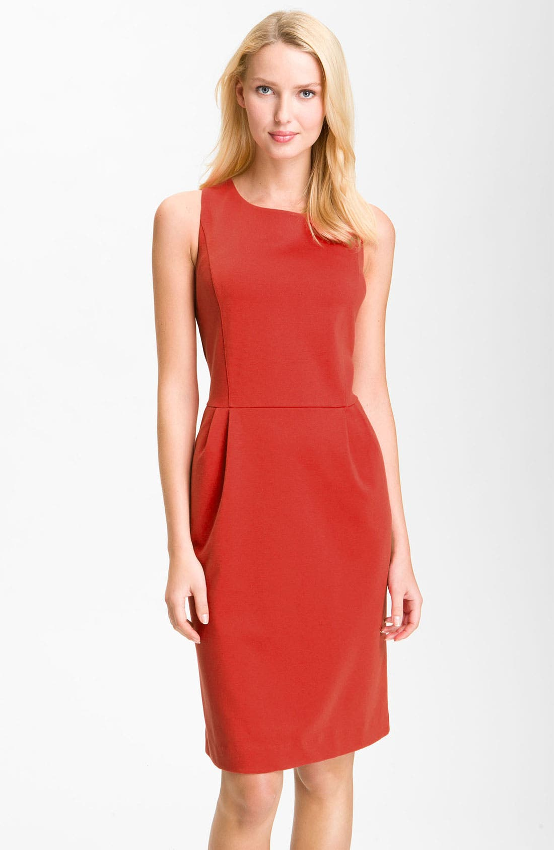 Alternate Image 1 Selected - Nic + Zoe Ponte Sheath Dress (Online Exclusive)
