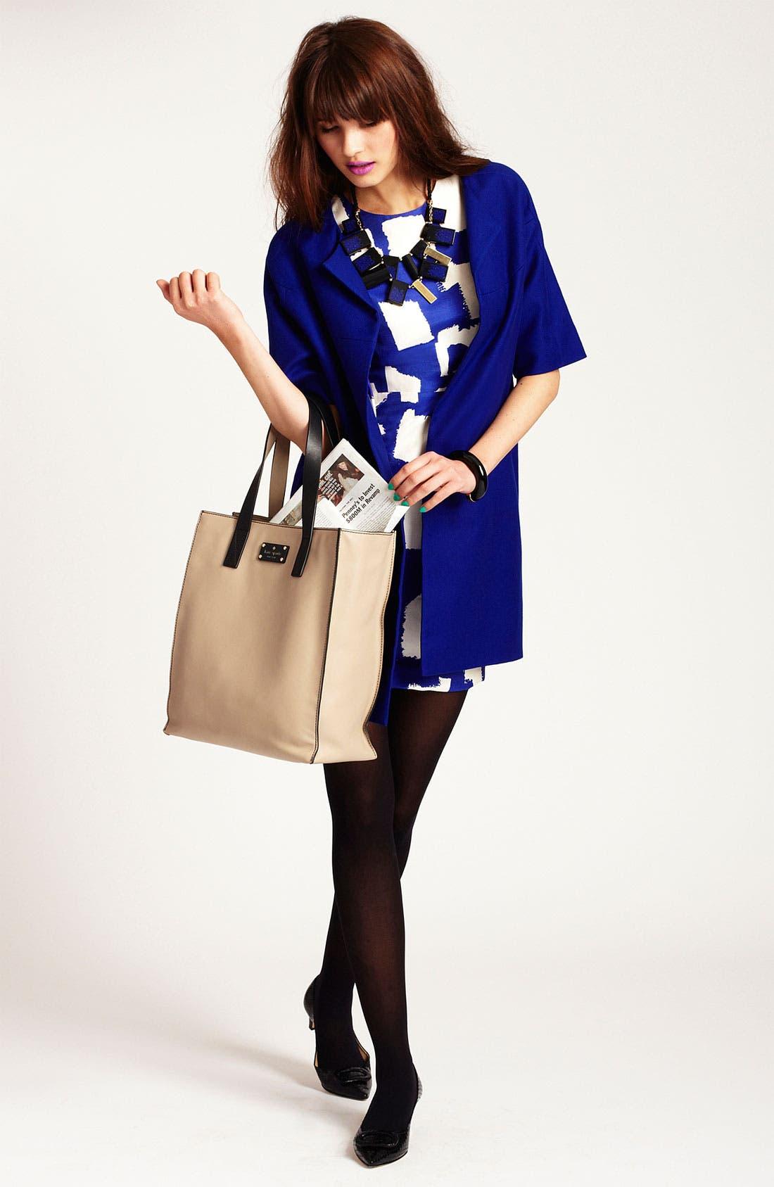 Alternate Image 1 Selected - kate spade new york dress & coat