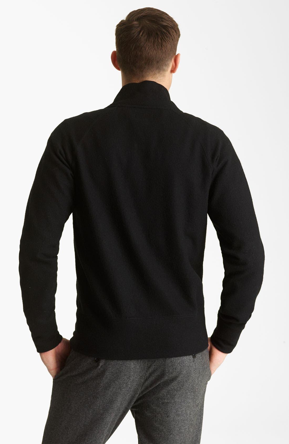 Alternate Image 2  - Todd Snyder Wool Track Jacket