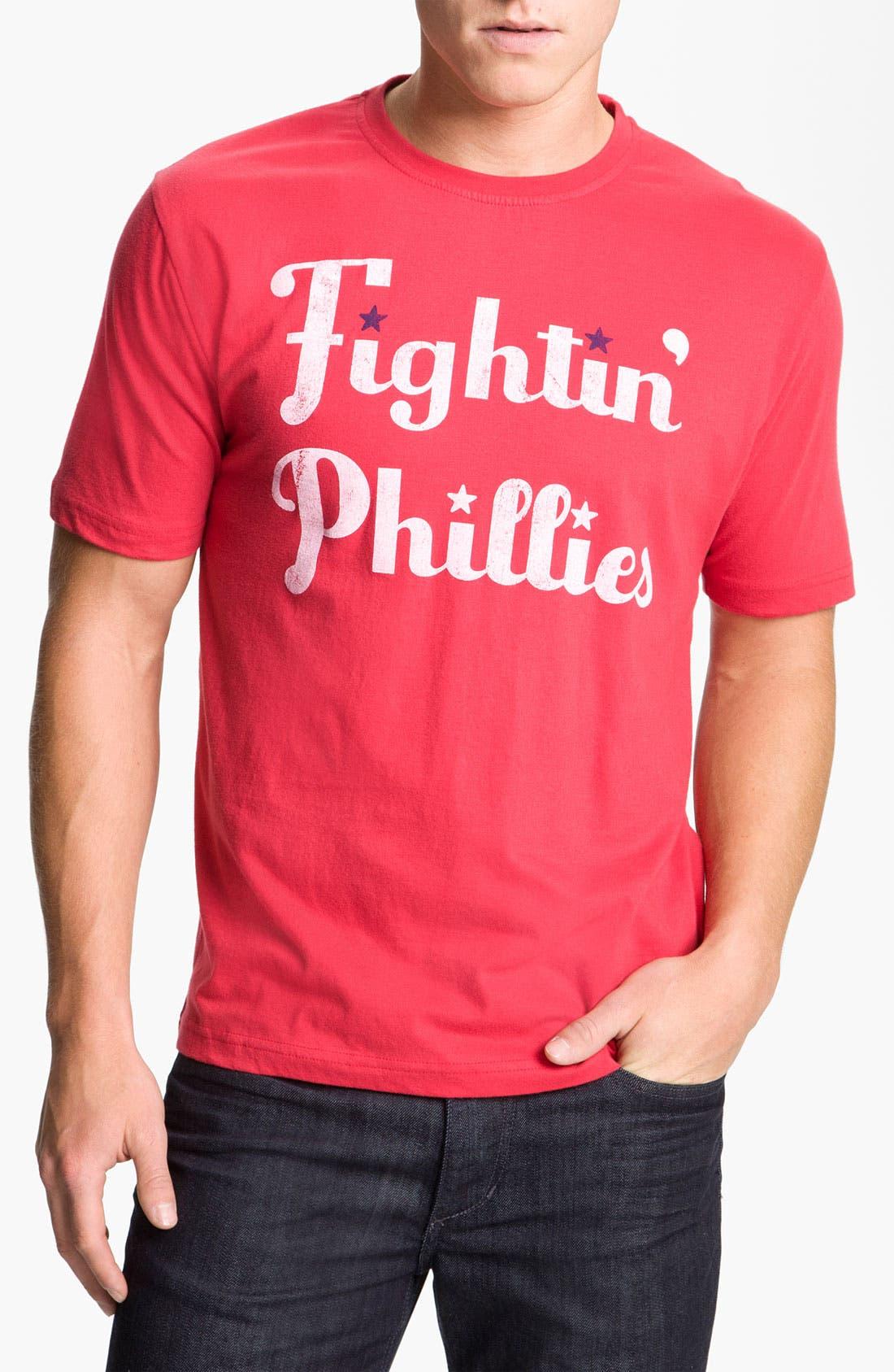 Alternate Image 1 Selected - Wright & Ditson 'Philadelphia Phillies' Baseball T-Shirt
