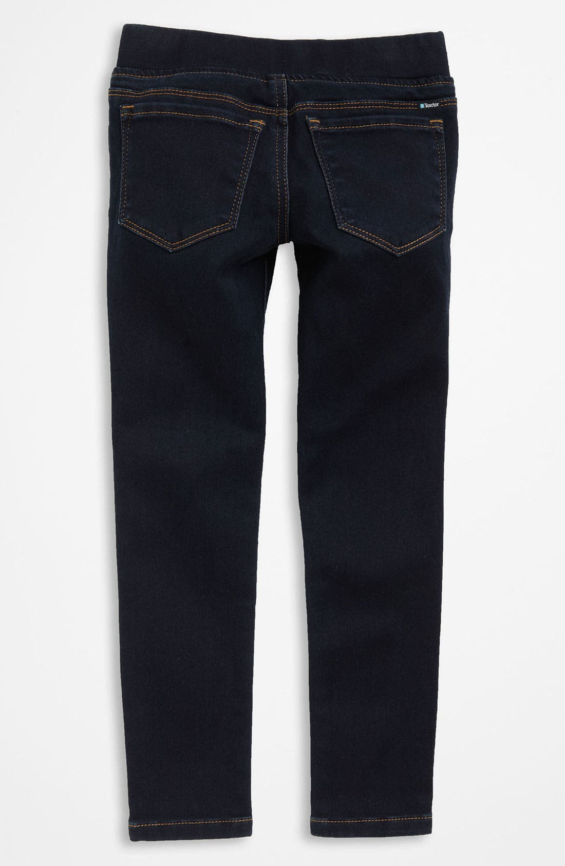 Main Image - Tractr Denim Leggings (Little Girls)