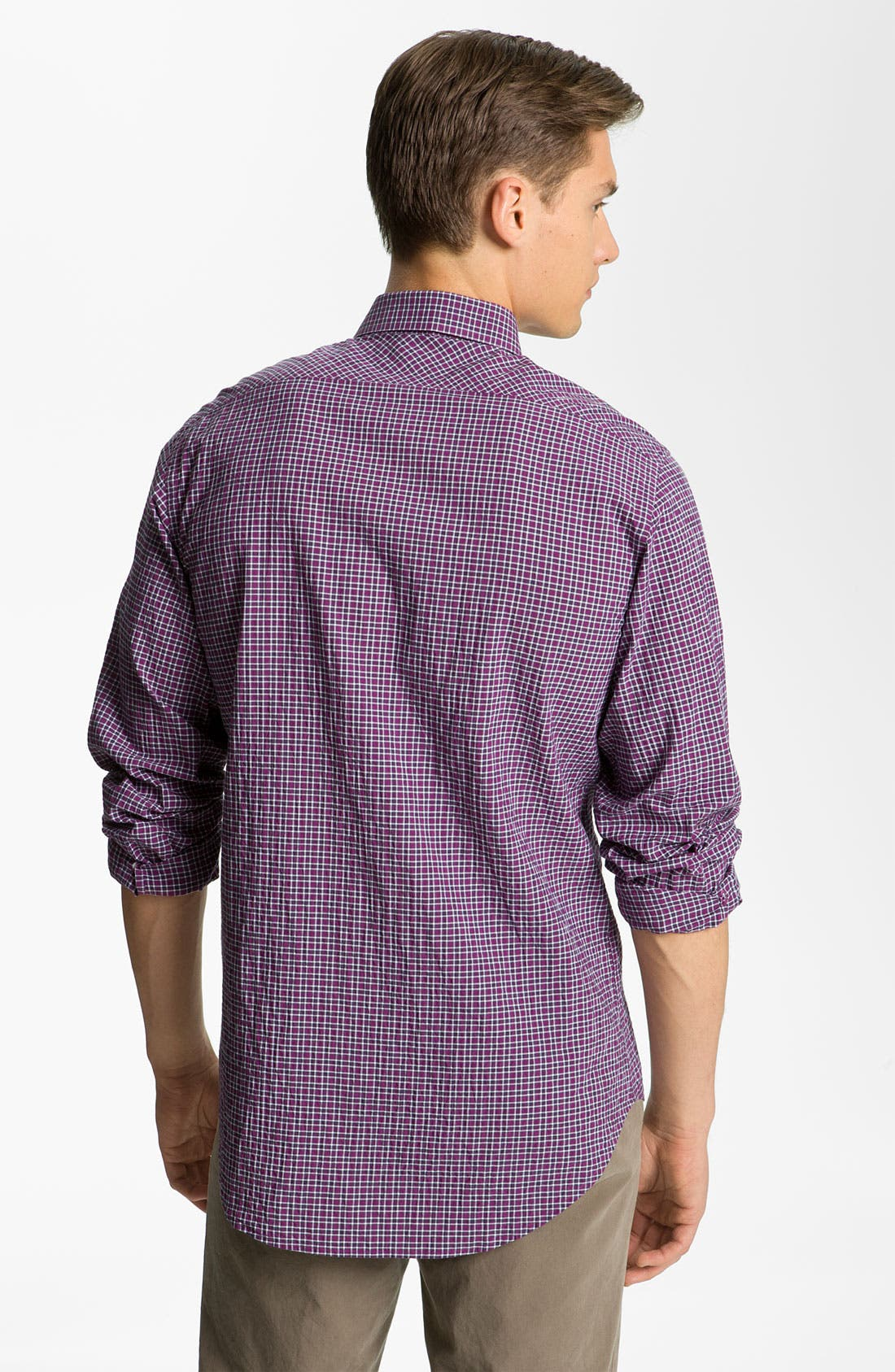 Alternate Image 2  - Billy Reid 'Tuscumbia' Plaid Woven Shirt