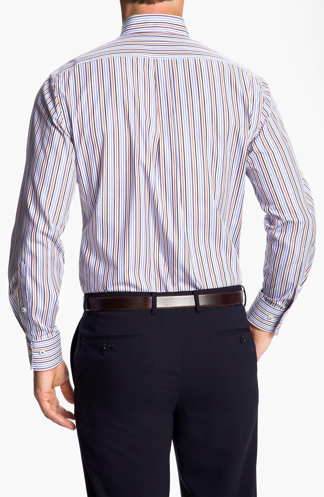 Alternate Image 2  - Peter Millar 'Pinwheel Stripe' Sport Shirt