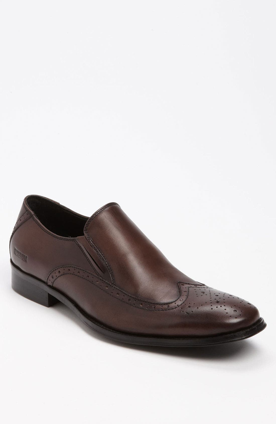 Main Image - Kenneth Cole Reaction 'Hat Trick' Wingtip Slip-On (Online Only)